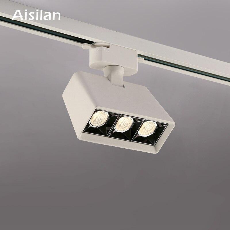 Aisilan светодиодный светильник-дорожка для коммерческого магазина, магазина одежды, фоновый настенный светильник для дома, гостиной, точечны...