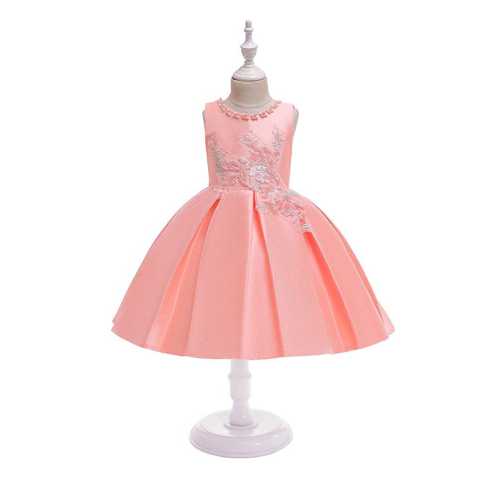 CHILDREN'S Dress Handmade Beaded Bracelet Performance Girls Princess Dress Children Dress Host Service