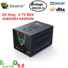Beelink NEW GS-KING X Amlogic S922X-H Smart Android 9.0 TV Box
