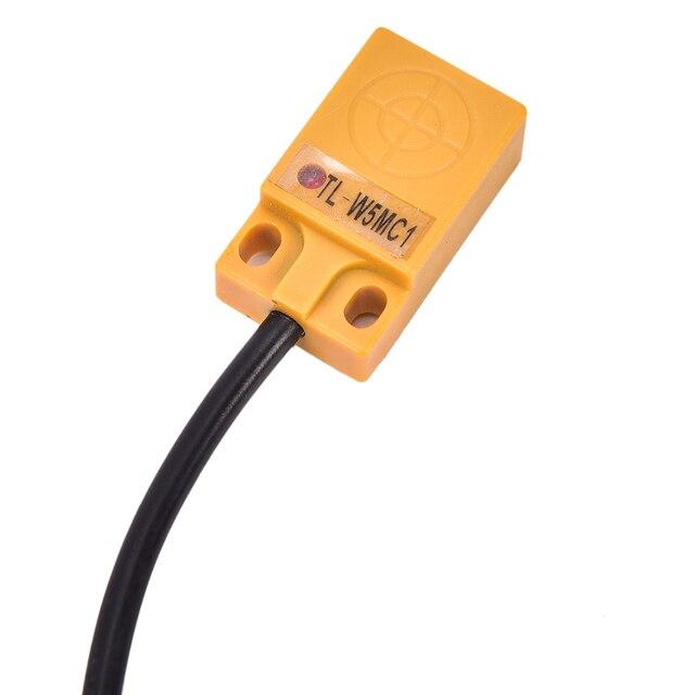 1Pc TL-W5MC1 5mm 3 fils inductif capteur de proximité détecteur de détection NPN DC 6-36V 200A