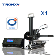 Tronxy X1 Mini DIY 3D Drucker Desktop Tragbare für anfänger bauen größe 150*150*150mm CE FCC roHS certifiction LCD 8GB SD freies