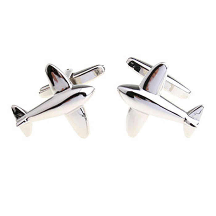 Simple and fashionable men's Cufflinks high quality Atmosphere High end air fighter French shirt Suit Cufflinks  gifts for men