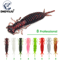 DNDYUJU Soft Lures Silicone Bait 55mm 1.4g Goods For Fishing Sea Fishing Pva Swimbait Wobblers Artificial Tackle