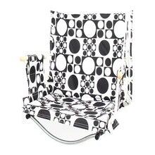 HooRu Portable Swing Chair Camping Lightweight Folding Hammock Chair with Armrest Outdoor Child Adult Garden Hanging Furniture