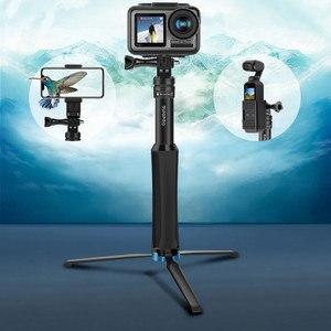Image 2 - الألومنيوم ترايبود selfie عصا monopod ل gopro الذهاب برو بطل 7 6 5 4 3 sj4000 sj5000x شاومي يي hero6 hero9 كاميرا الملحقات