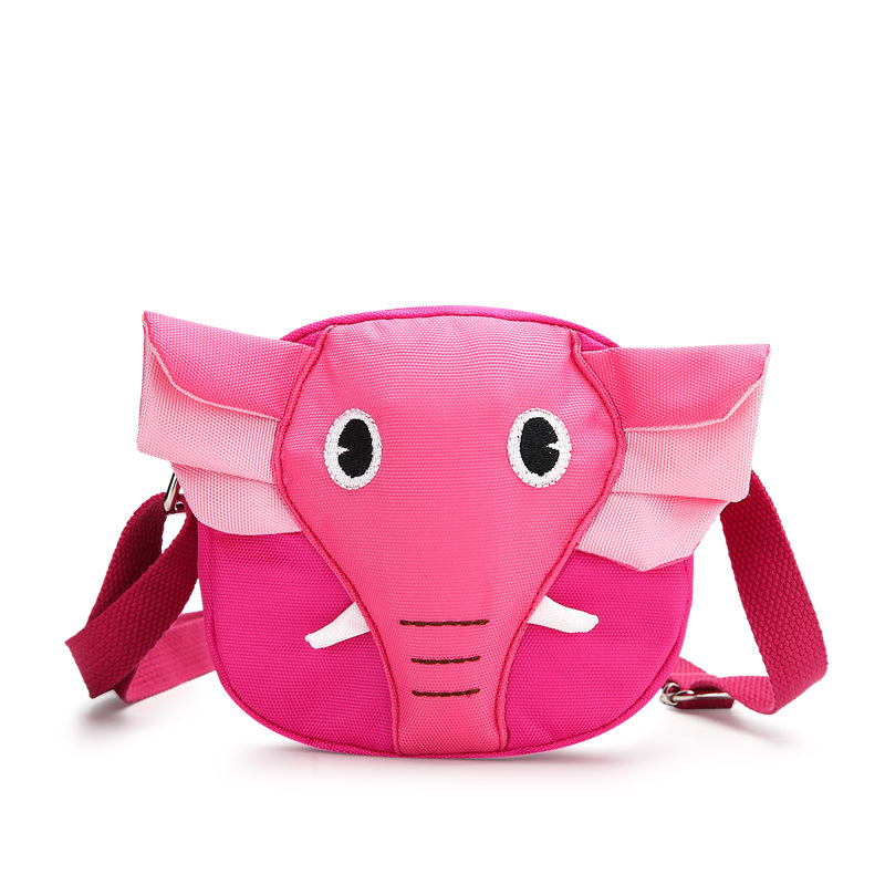 Baby Cute Cartoon Little Elephant Baby Harness Backpack Children's Bag Mini Anti-Lost Kids Adjustable Baby Walking Wings