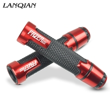 7/8 Motorcycle Aluminum Plastic Handle Grips With Logo For YAMAHA FAZER600 FAZER R600 1998 1999 2000 2001 2002 2003 2004-2010