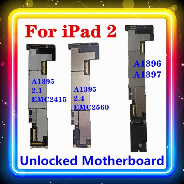 Для IPad 2 материнская плата WiFi + 3G версия A1396 A1397 WIFI/WLAN версия A1395 для IPad 2,1 (EMC 2415) 2,4 (EMC 2560)