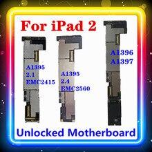Ipad 2マザーボード無線lan + 3グラムバージョンA1396 A1397無線lan/wlanバージョンA1395 ipadの2.1 (emc 2415) 2.4 (emc 2560)