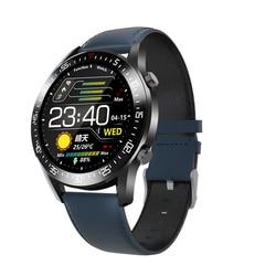 TRZOUM IP68 wodoodporny inteligentny zegarek C2 w pełni dotykowy okrągły ekran tętno monitorowanie ciśnienia krwi SmartWatch dla kobiet mężczyzn