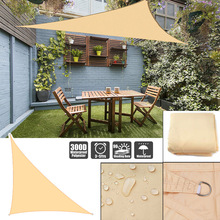 300D oxford right triangle visor sun sail pool cover sunscreen awnings for outdoor waterproof sail shade cloth gazebo canopy