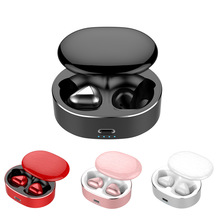 Fashion 6D Noise Reduction Bluetooth Wireless Headphones TWS Wireless Headset Rotating Cover Earphones for Sport Volume Control onsite volume reduction system