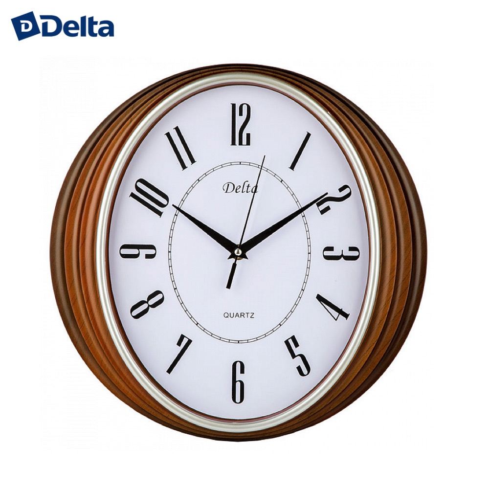 Wall Clocks Delta DT-0082  clock home decor classic look батарея delta dt 6045 4 5ач 6b