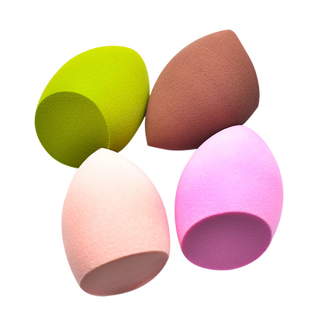 4 Colors Water Drop Sponge for Makeup Cosmetic Puff Cut Surface Foundation Makeup Sponge Cosmetic Sponge Tools MZS1016 2