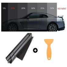 20% VLT Black Pro Car Home Glass Window Tint Tinting Film Roll Car Window Foils Anti UV Solar Protection Sticker Films Scraper 20% vlt black pro car home glass window tint tinting film roll car window foils anti uv solar protection sticker films scraper