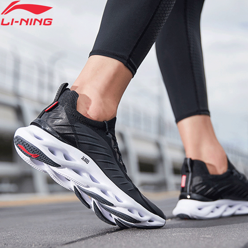 Li-Ning Men LN ARC Cushion Running Shoes Breathable Mono Yarn LiNing Wearable Stable Support Sport Shoes Sneakers ARHP073 XYP930