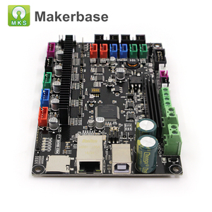 Image 3 - 3D Printer Parts Control Board MKS SBASE V1.3 32 bit Platform Open Source Smoothieboard with MKS TFT32 V4.0 Smart Touch Screen