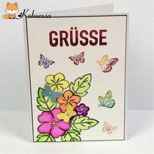 Kokorosa Clear Stamps Rubber Stamp Life Flower Bird Background Halloween Valentine Scrapbooking Album Decor