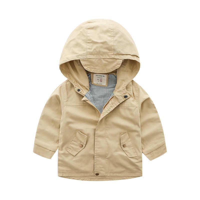 אופנתי ילדים ללבוש ילד של צבע טהור מעיל ילדים של טהור כותנה מעיל ילדי של רקמת דוב מעיל רוח