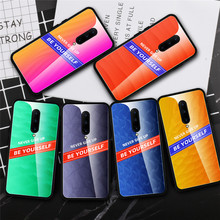 Case For Oneplus 7 Pro Original Tempered Glass Phone One Plus Oneplus7 Oneplus7Pro 1+7 Cover Coque