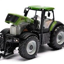 Новые сельскохозяйственные машины Модель автомобиля Инженерная модель автомобиля трактор инженерный автомобиль трактор Игрушечная модель для детей фигурка игрушки подарок