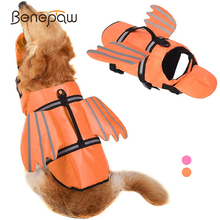 Benepaw Fashion Dog Swimming Vest Reflective Pet Life Jacket Control Handle Puppy Life Vest Summer Clothes For Water Safety