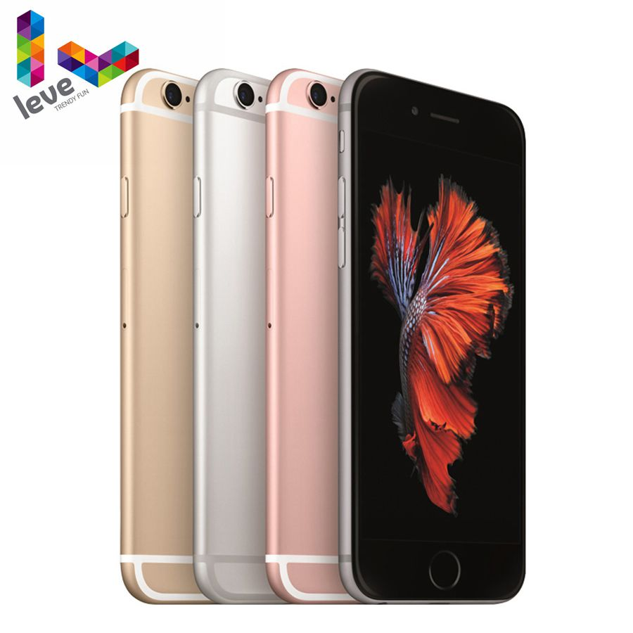 Apple A9 Original iPhone 6s 2GB 16gb GSM/LTE/WCDMA Dual Core Fingerprint Recognition