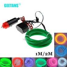 Автомобильные светодиодные гибкие неоновые ленты geetans el
