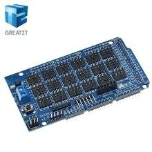 Pour Arduino MEGA capteur bouclier V1.0 V2.0 dédié carte de développement d'extension méga 2560 Sup IIC Bluetooth SD Robot pièces bricolage