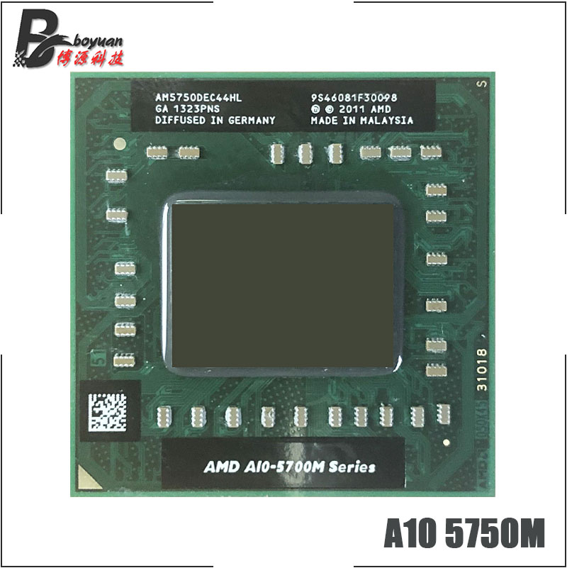 Bảng giá AMD A10-Series A10-5750M A10 5750M 2.5 GHz Quad-Core Quad-Thread CPU Processor AM5750DEC44HL Socket FS1 Phong Vũ