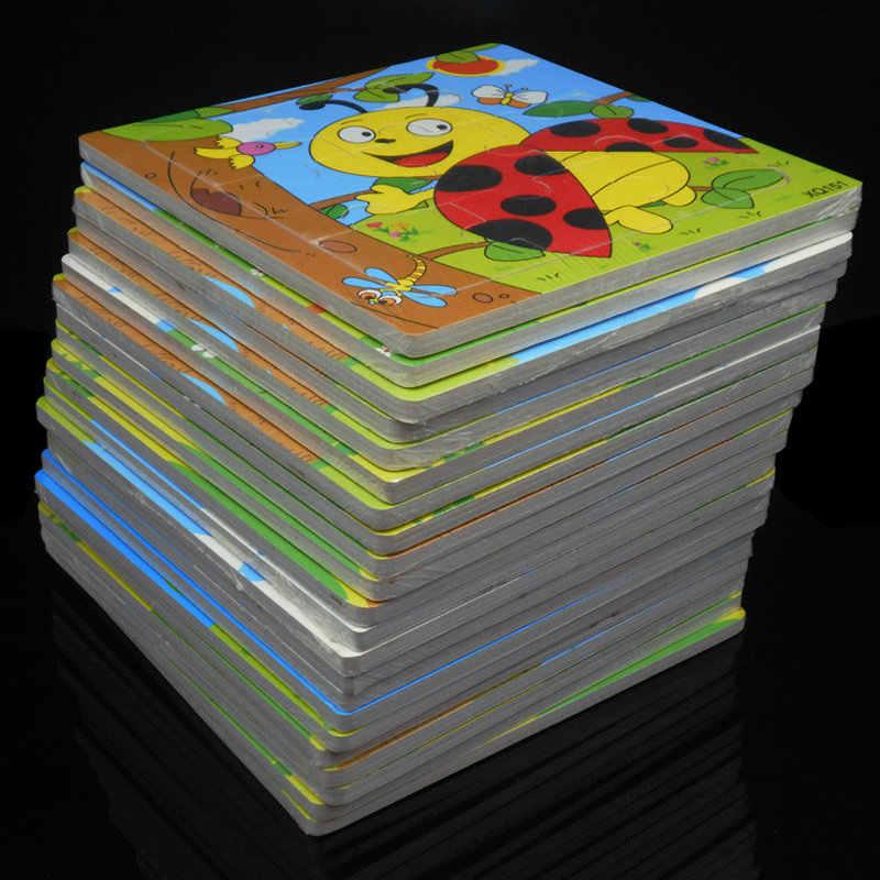 Trẻ Em Con Vật Bằng Gỗ Ghép Hình 28 Bộ Đồ Chơi Cho Bé 9 Miếng Ghép Trò Chơi Trẻ Em Gỗ Giáo Dục Montessori Xếp Hình 1 bộ