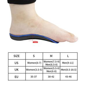 Image 5 - 3ANGNI 3/4 Arch Support Flat Feet insoles Orthotic Inserts Orthopedic Shoes Insoles Heel Pain Plantar Fasciitis Men Woman