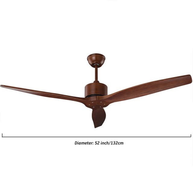 Ceiling fan with Remote Control Without Light Home Bedroom
