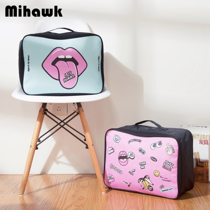 Mihawk Bra-Organizer Travel-Bag-Clothes Toiletries Case Suitcase-Accessories Large-Capacity