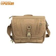 Роскошная Повседневная тактическая сумка мессенджер SPANKER, с плечевым ремнем, многофункциональная дорожная сумка