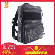 D3 Flatpack Tactic Backpack Hydration Carry Multipurpose Gear Pouch Travel Water