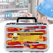 7 шт набор отверток многофункциональный Инструмент электрика