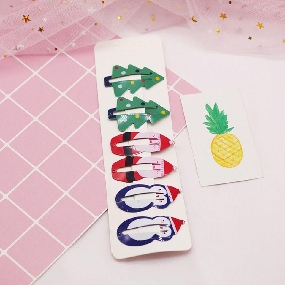 Lovely Kids Pineapple Fruit Cartoon Paint Hair Accessories Hairpins BB Hair Clip