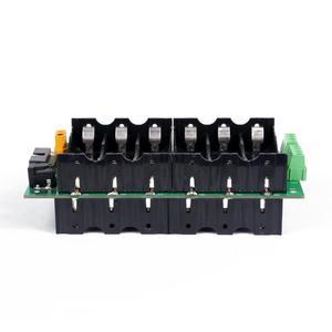 Image 5 - 24v 6s電源壁18650バッテリーパック6s bmsリチウムイオンリチウム18650バッテリーホルダーbms pcb diy電動自転車太陽電池6sバッテリーボックス