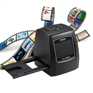14MP/22MP Full HD Film Photo Foto Scanners Film Scanner Slide Viewer Scanner Color Digital Negative Scanner With 2.4inch LCD