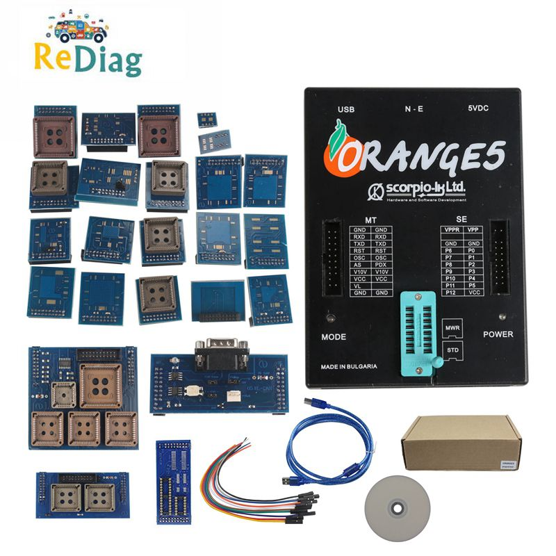 OEM Orange5 Programmer Orange 5 Programmer With Full Adapters ORANGE 5 Professional Programming Device And Software