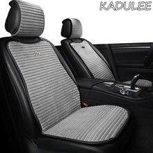 KADULEE-Funda de asiento de coche calefactable, 12V, para Toyota LAND CRUISER, Venza, Corolla, Crown, Camry, PRADO, RAV4, YARiS, verso, CHR