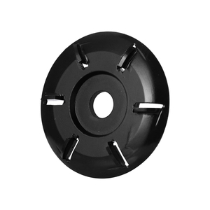 Image 2 - Coupeur de fraisage doutil de disque de sculpture sur bois de puissance de Six dents pour la meuleuse dangle douverture de 16mm