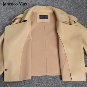 Image 5 - 2019 New Arrival Womens Real Sheepskin Leather Jackets Top Quality 5 Colors Genuine Leather Coat Fashion Jackets Lady S7547