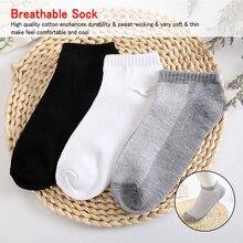 5Pair Womens Socks Boat Couple Unisex Mesh Woman Female Summer Women Ankle Short White Gray Black