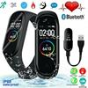 M4 Smart Wristband Fitness Bracelet Color Touch Screen Bracelet Heart Rate Blood Pressure Tracker Waterproof Fitness Smart Band