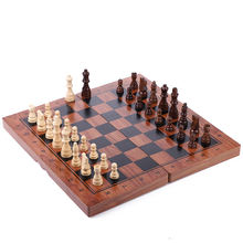 Большой Размеры 39*39 см складные магнитные шахматы высокое