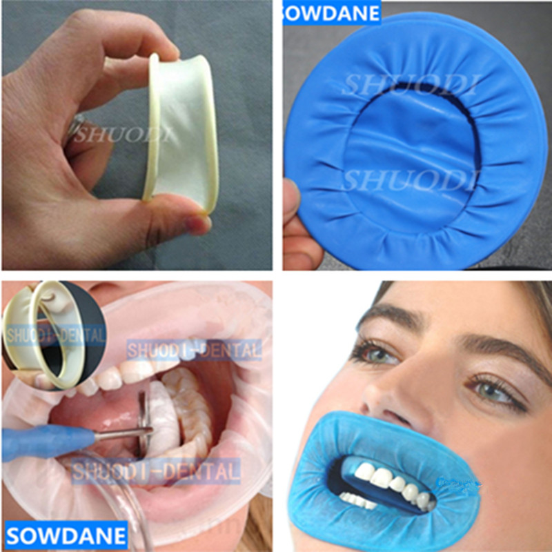 Rubber Dam Rubber Latex Dental Intraoral Dentistry Cheek Retractor Full Mouth Opener Oral Hygiene Care Teeth Whitening Material