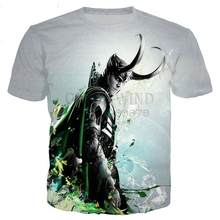 2021New classical Loki series t shirt men women 3D printed novelty fashion tshirt hip hop streetwear casual summer tops 100/6XL