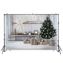 HUAYI Art fabric Christmas Backdrop Photography For Newborn Drop Background XT-5669